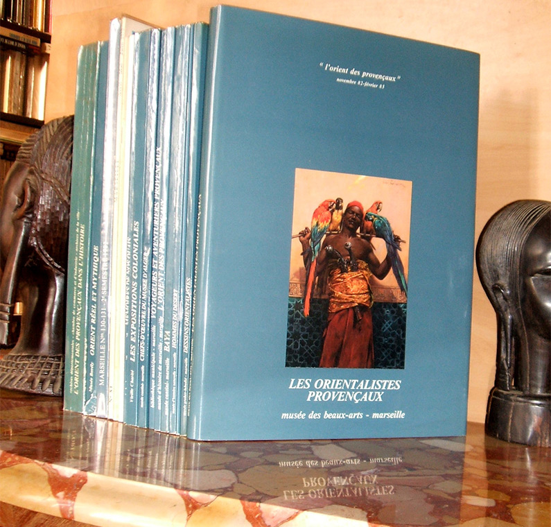 l'orient des provençaux,les 14 catalogues d'expositions, marseille 1982  Edition Originale, sur www.wanted-rare-books.com/l-orient-des-provencaux-14-catalogues-expositions-1982.htm -  Librairie on-line Marseille, http://www.wanted-rare-books.com/